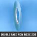 Rouleau d'adhésif double face non tissé 160µ 6mm