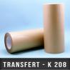 Transfert d'adhésif Ep 80µ L 500mm