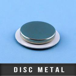Disc métallique adhésif Ø25mm