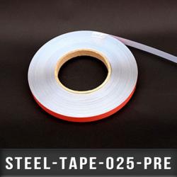 Ruban métallique adhésif Ep 0,2mm l 25mm