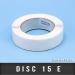 Disc de fermeture Ø15mm Enlevable