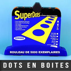 SuperDots™ 1007 tenue verticale ± Ø8/12mm