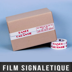 "Film polypropylène ""FRAGILE"""