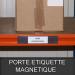 Porte étiquette magnétique 40mm
