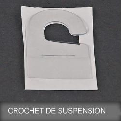 Crochet de suspension adhésif