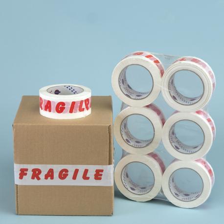 """Film polypropylène """"FRAGILE"""""""