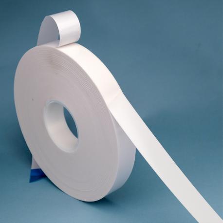 UHP émulsion acrylique Ep 1,1mm X19mm BLANC
