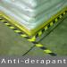 Bande adhésive anti-dérapante de marquage Noir/Jaune 25mm