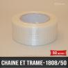 Rouleau de renforcement chaîne trame 50mm