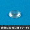 Butée adhésive hémisphérique Ø9,5mm H3,8mm Transparent