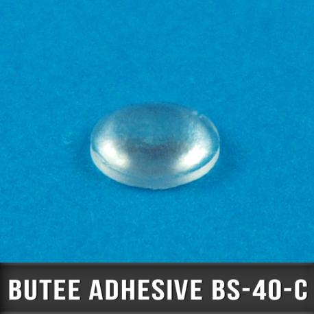 222 Butées adhésives hémisphériques Ø6,4 H 1,6mm