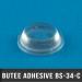 300 Butées adhésives cylindriques Ø9,5 H 3,2mm