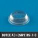 200 Butées adhésives cylindriques  Ø12,5 H 3,2mm