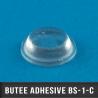 Butée adhésive cylindrique  Ø12,5mm H3,2mm Transparent
