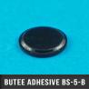 Butée adhésive cylindrique Ø12,5mm H1,5mm Noir