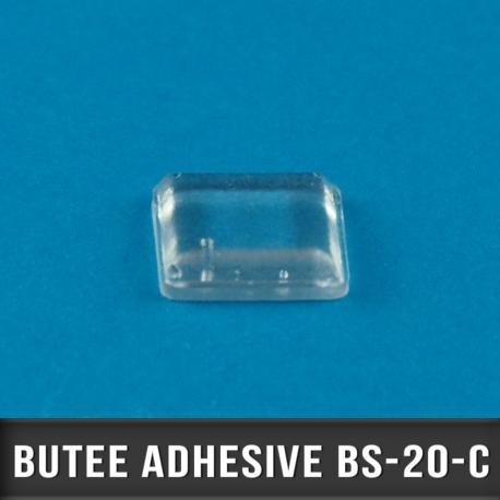 242 Butées adhésives carrées 10,2 X2 H 5,8mm