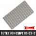 98 Butées adhésives carrées 19,8X2 H6,4mm