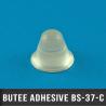 Butée adhésive conique Ø18,3mm H14,2mm Transparent