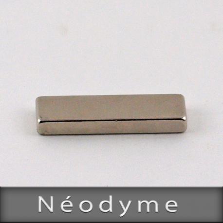 Néodyme Format L25mm X H3mm