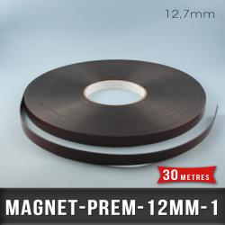 Aimant magnétique adhésif premium Ep 1mm l 12,7mm