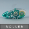 """Roller dévidoir double face  """"Enlevable""""  9mm x 12ML"""