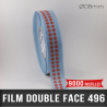 Pastille adhésive double face polyester 210µ Ø8mm