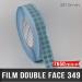 Pastille adhésive double face 140µ Ø10mm