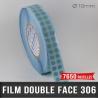 Pastille adhésive double face 85µ Ø10mm