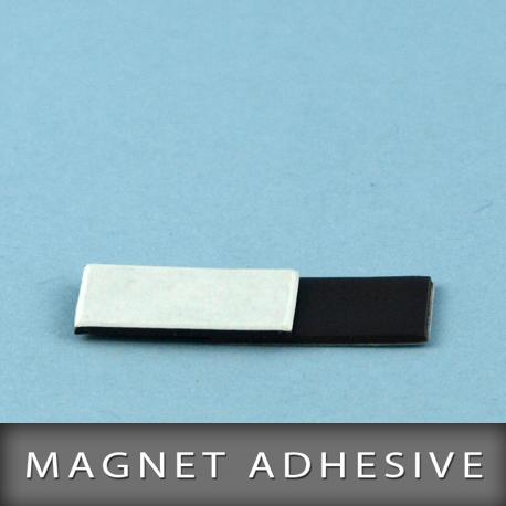 Magnet adhésive en format 20X10mm