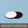 Pastille magnétique adhésive Ø20m Ep. 0.7mm