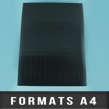 Formats en planche A4 épaisseur 1mm