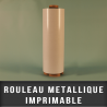 Rouleau metallique imprimable EP 0,4mm