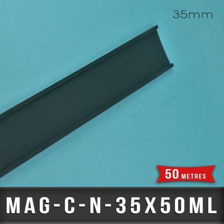 Porte étiquette aimantée 35mm
