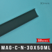 Porte étiquette magnétique 30mm