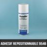 Spray adhésif enlevable