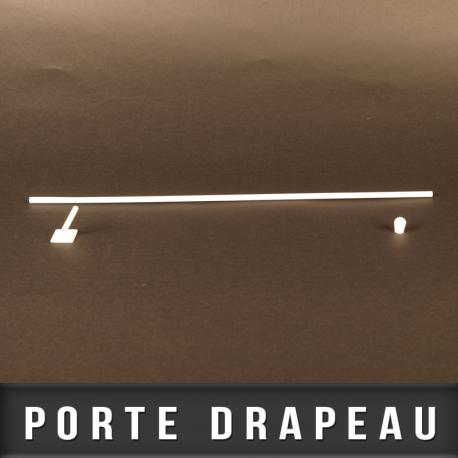 Porte drapeau base adhésive 500mm