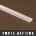 Porte affiche PVC