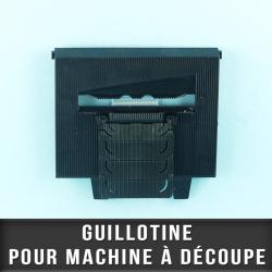 Guillotine pour machine à découpe