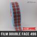 Pastille adhésive double face 200µ Ø20mm