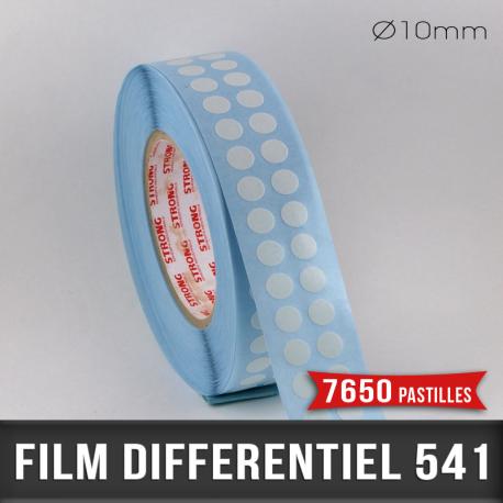 Pastille adhésive différentiel 60µ Ø10mm