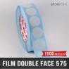 Pastille adhésive double face 92µ Ø30mm