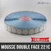 Pastille adhésive double face mousse 1mm Ø30mm