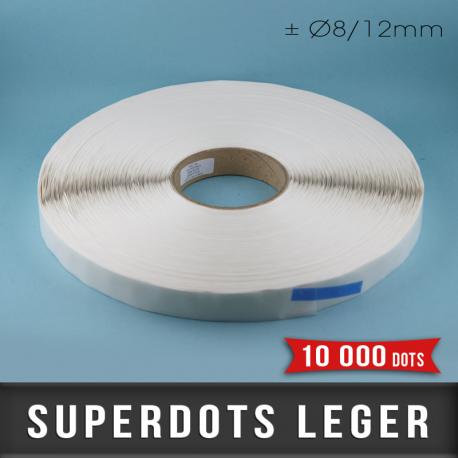SuperDots léger ± Ø8/12mm