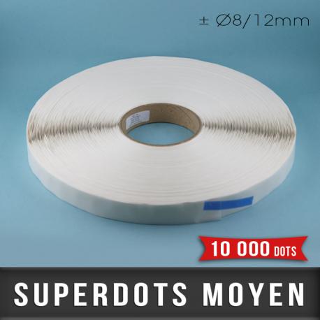SuperDots moyen ± Ø8/12mm