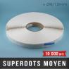 SuperDots moyen Ø8/12mm