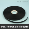 Back-to-Back 20mm X25M