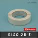 Disc de fermeture Ø25mm Enlevable