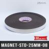 AIMANT ADHESIF  -  EP. 0,8mm