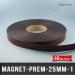 Aimant magnétique adhésif premium Ep 1mm l 25mm