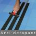 Bande adhésive anti-dérapante noir 100mm